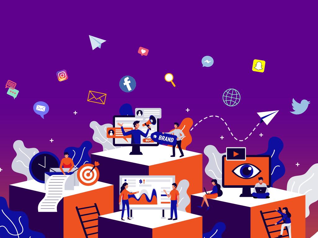 social media marketing strategies for brand